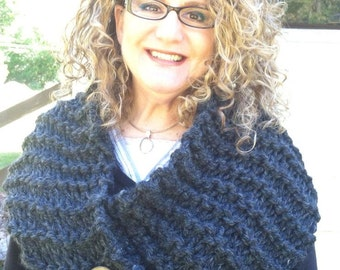 """Outlander inspired, """"Claire's Cowl"""", Neckwear, Knitted"""