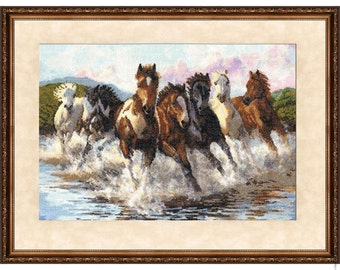 Cross Stitch Kit by Golden Fleece - In The Dance Of Water Splashes