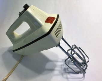 Sears Solid State Wall-Mount Hand Mixer - Vintage, Working