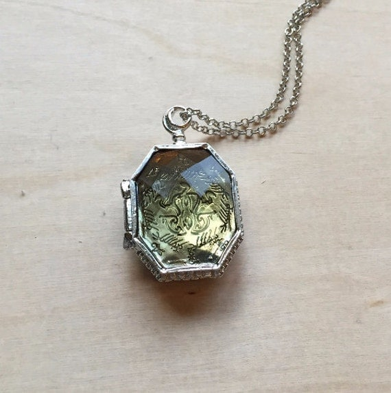 harry potter horcrux locket necklace lord voldemort by