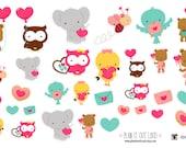 Valentines Cuties (planner stickers)