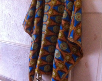 Ladies African print large top up to size 24