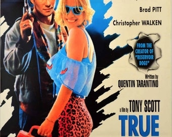 TRUE ROMANCE Movie POSTER Tarantino Pulp Fiction Kill Bill