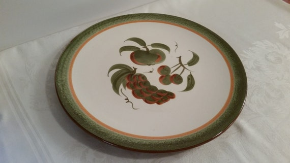 Stangl Orchard Song 14.5'' Chop Plate #5110