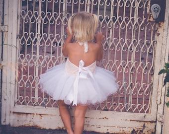 Ballet Dress - Ballerina Dress - Ballerina Costume - Baby Ballerina - Toddler Ballerina - Ballet- Pink - White