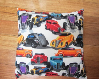 Hot Rod pillow