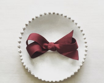 Ashley - customize color bow hair clip