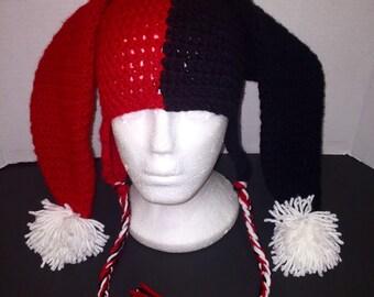 Harley Quinn inspired hat