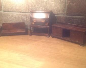Antique doll furniture miniture
