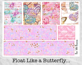 Float Like a Butterfly... Washi for the Erin Condren Life Planner