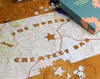 World's Greatest Dad - Personalized Jigsaw Puzzle