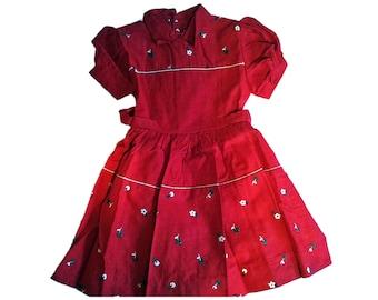 dresses child vintage 50s