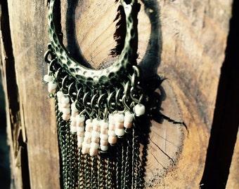 Boho chain with beads