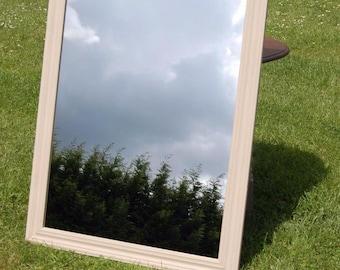 Fab Shabby Chic Large Pine Mirror - Annie Sloane Paint