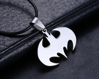 Bat Man Necklace