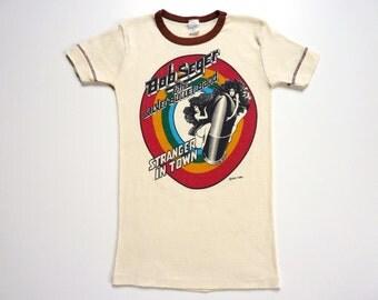 Vintage 70's Band Tee-Shirt Bob Seger Stranger In Town