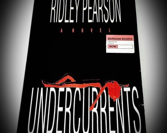 first edition hardback Undercurrents by Ridley Pearson
