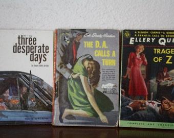 Paperback Mysteries - Vintage