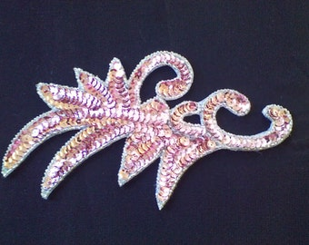 4) Pink Sequin Applique