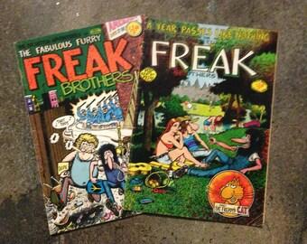 1980 FREAK Comic Book