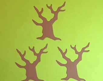 Set of 3 Bare Tree Die Cuts