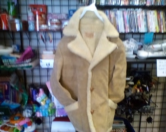 Vintage Town n Ranch Sherpa Style Coat