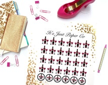30 Wine Bottle/ Glasses Stickers (Planner Stickers)
