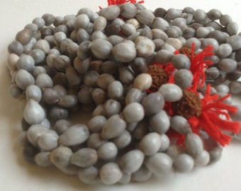 Job's Tears 108 Vaijanti Seed Beads from, India