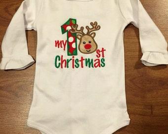 Baby's 1st Christmas Onesie