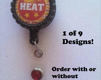Heat ID Badge, Heat Badge, Miami Heat ID Badge, Miami Heat Badge, Miami Heat, Heat
