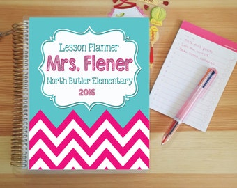 Personalized Teacher Planner (Most Popular!)