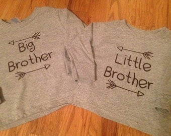Big and Little Brother Arrow Shirts