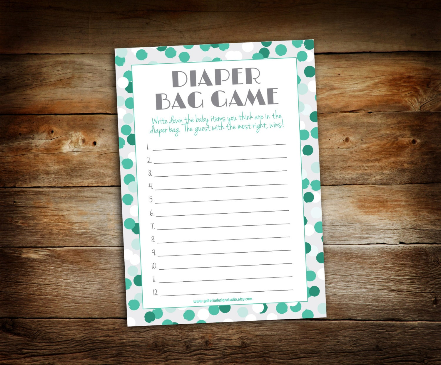 baby shower game baby shower diaper bag game printable