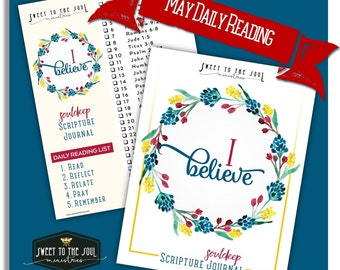 I Believe - Soul Deep Daily Scripture Journal Download + Bonus Freebies