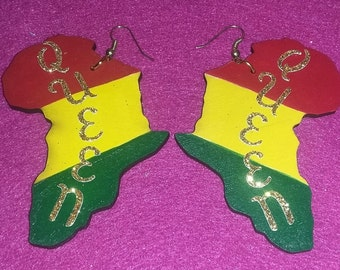 African Queen earrings