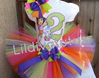 Dora the explorer tutu set