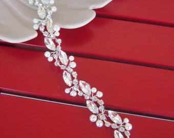 Rhinestones Wedding Belt Sashes/Crystal Bridal Sash, Bridal Belt, Wedding Dress Belt, wedding accessories