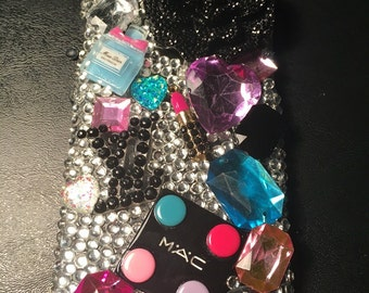Iphone 6/6s handmade 3D bling Makeup phone case