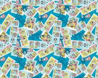 Sponge Bob 100% Cotton Fabric