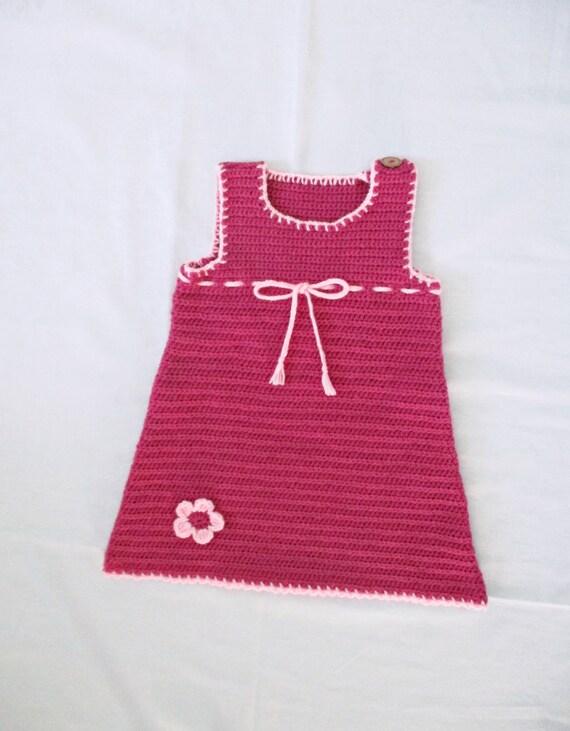 baby kleid h keln h keln himbeer rosa baby kleid mit. Black Bedroom Furniture Sets. Home Design Ideas