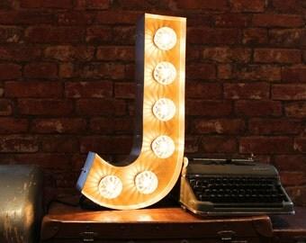 Letter Light J