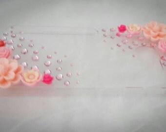 Pink Flower theme Samsung Galaxy S6 case