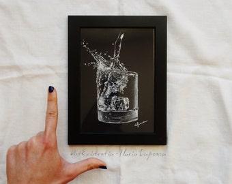 Glass, original, handmade