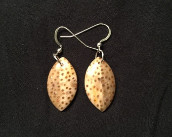 Petrified Palm Wood Earrings
