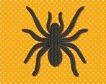 Spider Halloween Filled Machine Embroidery Design 3 sizes 042