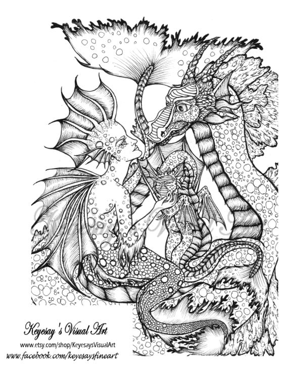 sea serpent coloring pages - photo#35