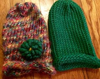 XS Multicolor Hat (w/ flower)