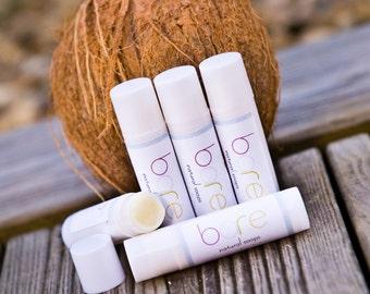 Coconut Natural Lip Balm / Lip Butter - 3 Pack