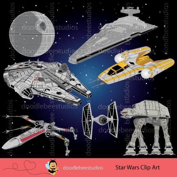 star wars clipart starwars clip art star wars spaceships. Black Bedroom Furniture Sets. Home Design Ideas