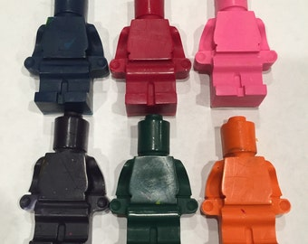 Crayons! Lego men- 6 pack